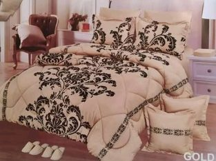 Bedsheets, duvets and curtains