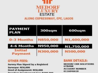 Cheapest Land for sale at Epe Lagos