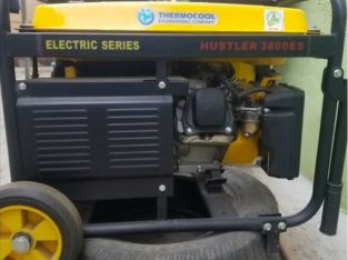 Very rugged haier thermocool electric series hustler 3800es generator for sale…