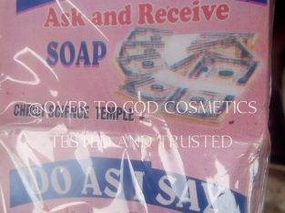 DO AS I SAY SOAP ASK AND RECEIVE IMMEDIATELY