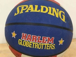 Autographed Globetrotters Basketball