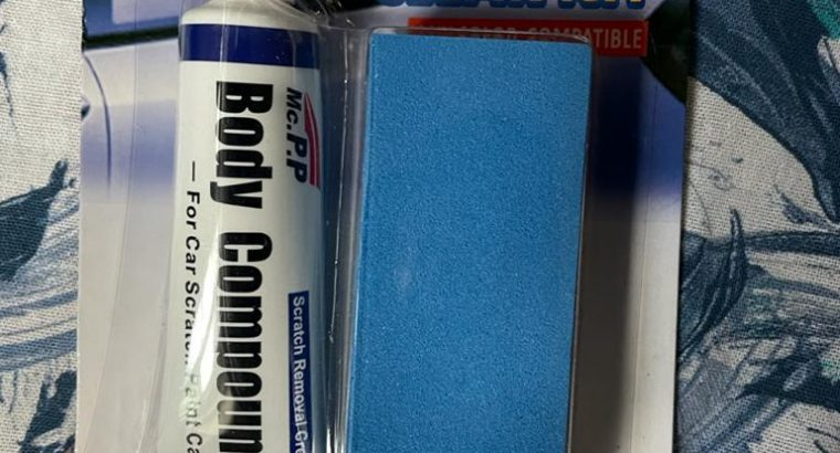Car body compound scratch repair and protection