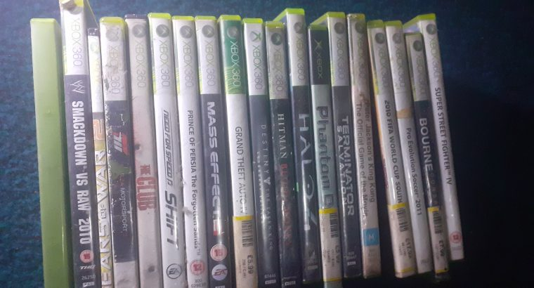 Xbox One and Xbox 360 + Games