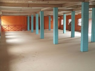 600sqm Open Space On With ACs At Agric Ikorodu Lagos