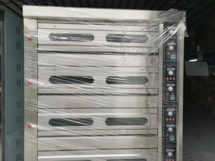 4 deck 16 tray gas baking oven