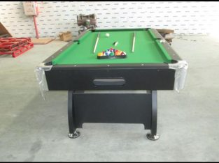 7FT FOREIGN BILLIARDS, SNOOKER BOARD WITH FULL ACCESSORIES