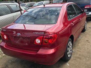 very clean Toyota corolla S  for sale