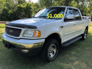 Selling 2002 Ford F-150 xlt