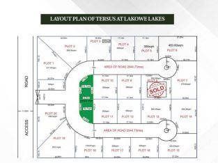 land with CofO in Ibeju well secure Estate